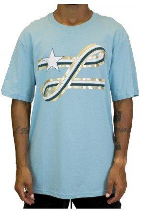 camiseta lrg ribbon azul claro hyped 91