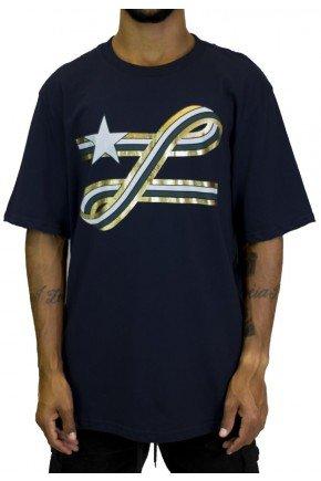 camiseta lrg ribbon azul marinho hyped 91