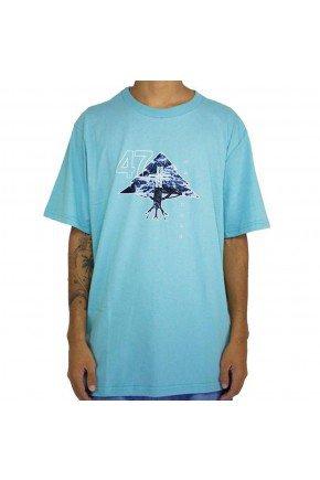 camiseta lrg mountain 47 azul claro hyped 91
