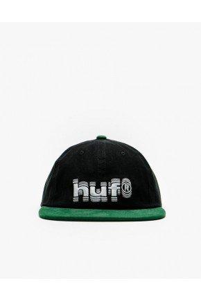 bone huf shake aba reta strapback preto verde hyped 91 3