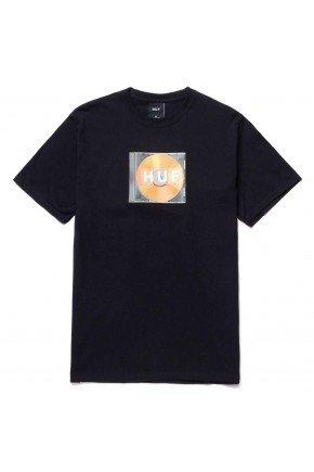 camiseta huf mix box logo masculina preto hyped 91
