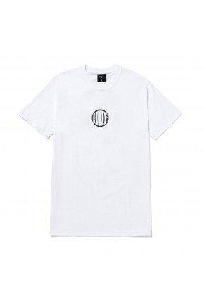 camiseta huf silk hi def branco verde hyped 91