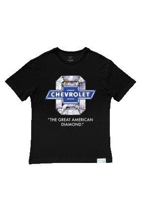 camiseta diamond x chevrolet american diamond preto hyped 91
