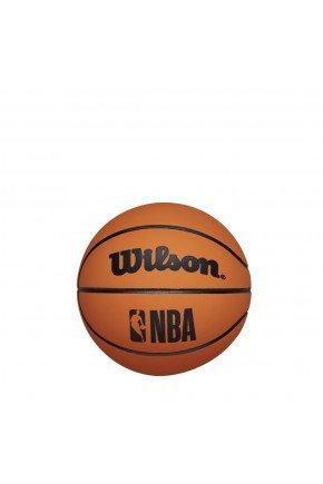 mini bola de basquete wilson nba dribbler laranja hyped 91