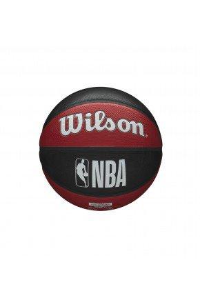 Bola De Basquete NBA Wilson Houston Rockets Team Tribute preto vermelho  hyped 91