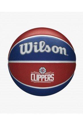 bola de basquete nba wilson los angeles clippers team tribute azul e vermelho hyped 91