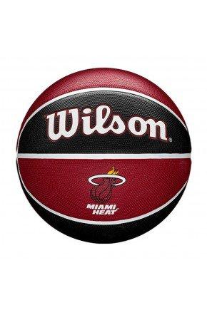 bola de basquete wilson nba miami heat team tribute preta vermelha hyped 91