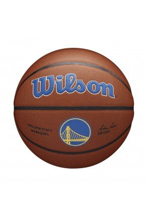 bola de basquete wilson nba golden state tean alliance marrom hyped 91